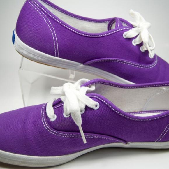 40591010e85a3 Keds Shoes - Keds Champion Originals Purple Canvas Sneakers